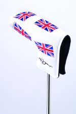 MD Golf Norman Drew Signature Union Jack Putter Headcover